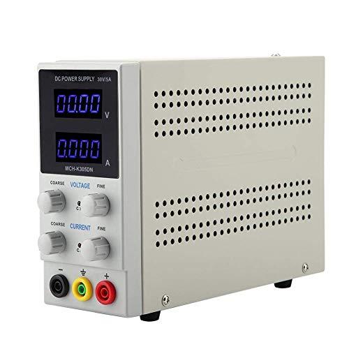 Fuente de alimentación, 30 V, 5 A, 110 V/220 V CC, fuente de alimentación ajustable para la reparación de portátiles