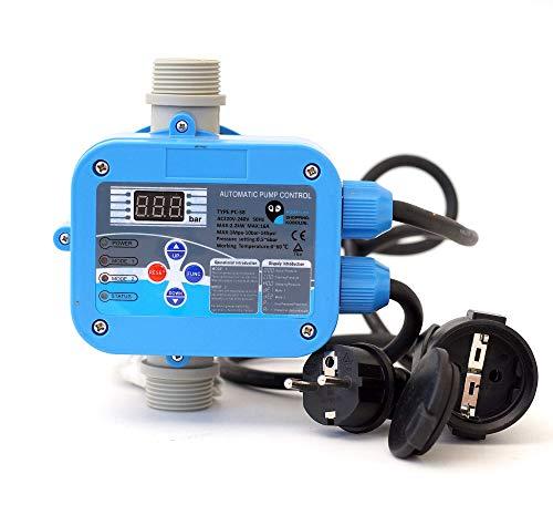 Digitale vollautomatische Pumpensteuerung PC-58 für Gartenpumpen Hauswasserwerk (TÜV)