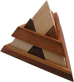 Luxor Pyramid Wooden Puzzle Brain Teaser