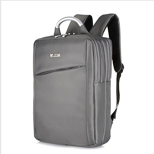 beibao shop Backpack -Laptop Backpack Sacs à Dos pour Ordinateur Portable Nylon 15 Pouces Business/Work/Travel Ultra-léger, Grey