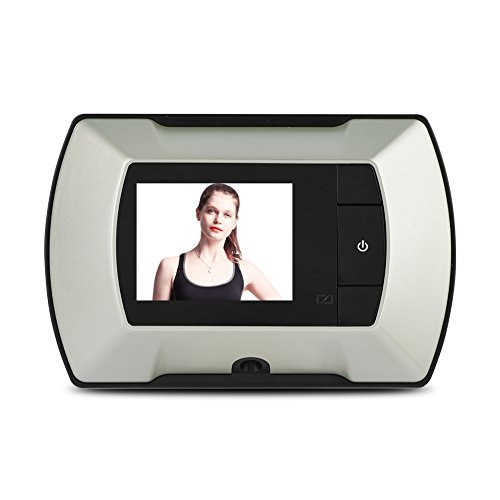 VBESTLIFE Türspione,Digital Door Viewer & Türklingel,Digitale Tür Viewer Kamera mit hohe Auflösung LCD 150 ° Full Vision