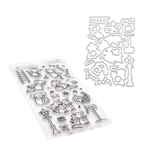 CURT SHARIAH Fay Silicone Clear Seal Stamp DIY Scrapbooking Embossing Photo Album Decorative Crafts