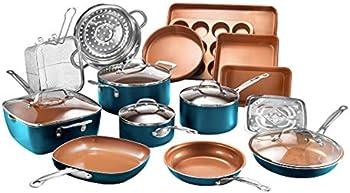 20 Piece Gotham Steel Cookware + Bakeware Set