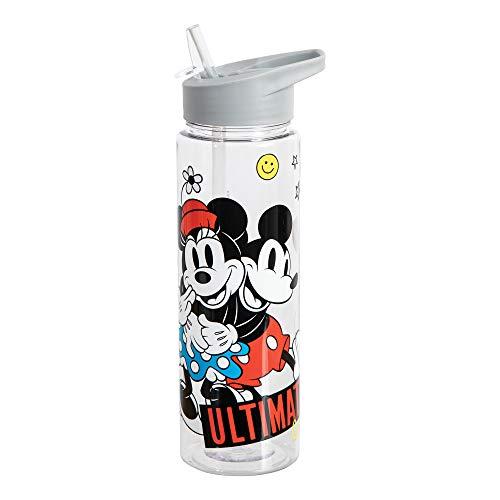 Disney Classic Mickey Minnie 24Oz Water Bottle