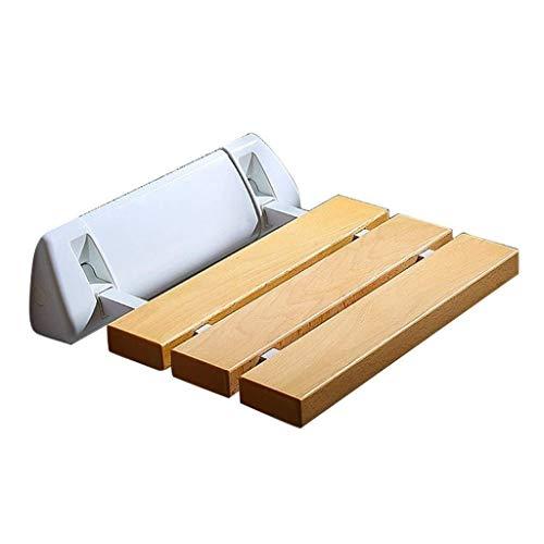 Taburetes y asientos de ducha y baño Soporte de pared plegable taburete de ducha, baño Pasillo de la entrada de calzado Cambio de banco, Asientos for ducha for adultos de listones ( Color : B )