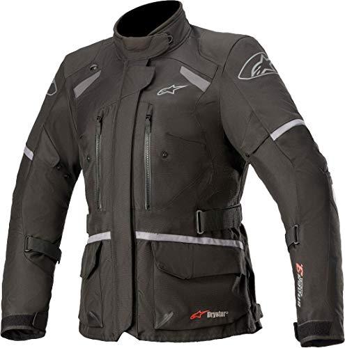 Alpinestars Stella Andes V3 Drystar Damen Motorrad Textiljacke Schwarz S