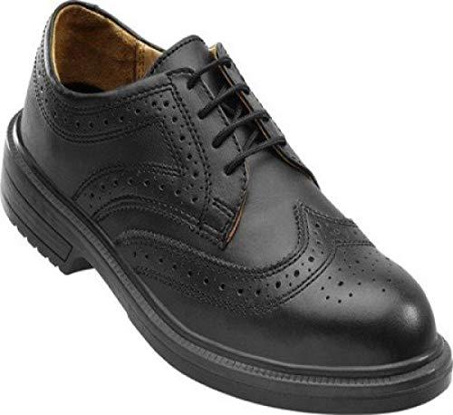 OTTER 96707 Sicherheitsschuhe edel für Business Büro Anzug Chef ESD S1 Schuhe, Größe:45