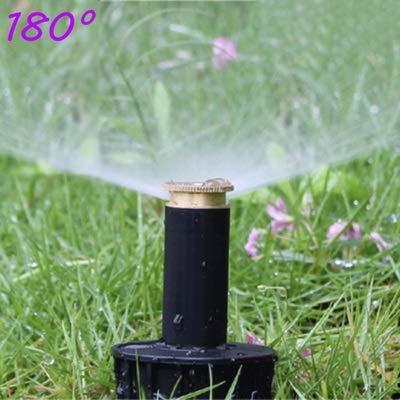 NOLOGO Gxbld-yy 1/2 Zoll Rasen Bewässerung Zahnradantrieb Sprinkler Reines Kupfer Bewässerung Werkzeuge Garten Big Body for Garten Supplies (Farbe : 180 Degree)