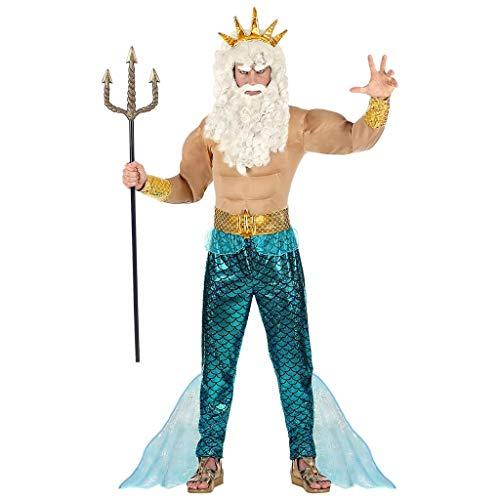 WIDMANN 08752Adultos Disfraz Poseidon