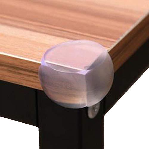 Ongeacht 10 stuks tafel- en meubelhoeken, veiligheidshoeken, hoekbescherming, transparante tafelhoekbescherming voor kinderbeveiliging