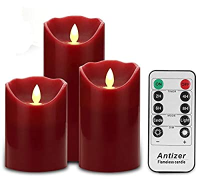 Antizer Flameless Candles Battery Operated Candles