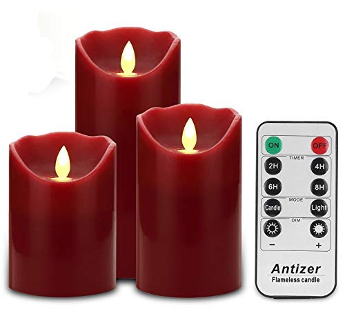 Best Budget: Antizer Flameless Drip-Less Realistic Candles