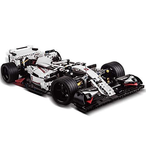 Haunen Technik Bausteine Formel 1 F1 Racing Auto, 1235Teile 1:8 Sportwagen Bausteine Konstruktionsspielzeug Kompatibel mit Lego Technic