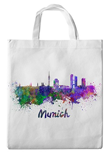 Merchandise for Fans Einkaufstasche- 38x42cm, 8 Liter - Motiv: Bayern München Silhouette...