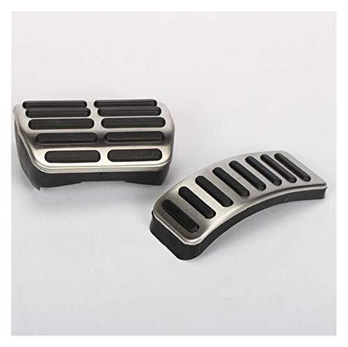 Grueso y resistente al desgaste 1 set Pedal de pedales de freno de gas de acero inoxidable For Audi A1 A2 A3 / S3 (8L) 1995 - 2003 TT + Cabrio 8N Piezas de coche Accesorios Pedal de coche antideslizan