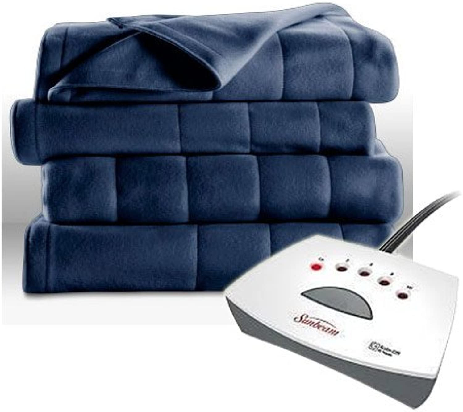 SUNBEAM FLEECE HEATED BLANKET-FULL SIZE