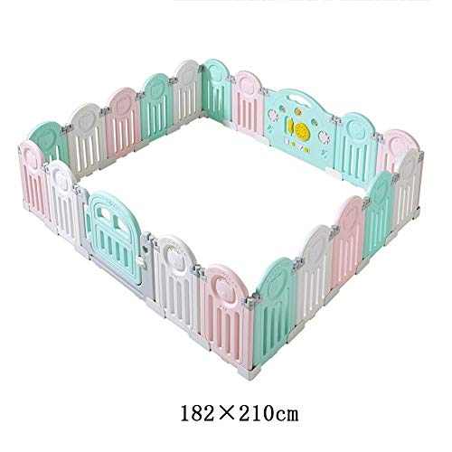 Why Should You Buy X/L Children's Playpen, Safety Fence, Foldable Portable Playground, Home Indoor a...