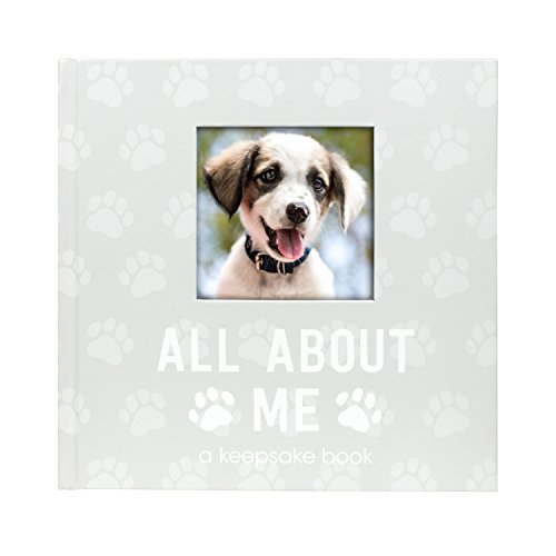 Pearhead Pet Milestone Keepsake, Paw Print Design, Dog Owner Gifts, Cherish Every Memory of Your Pup, Perfect for Dog People or New Puppy Pet Owners, 83029