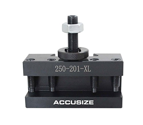 Accusize Industrial Tools Bxa Turning and Facing Holder, for 3/4'' Turning Tools, Quick Change Tool Holder, Style 1, 0250-0201xl