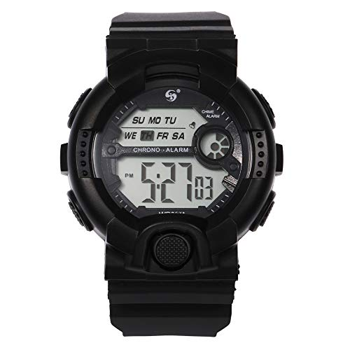 SKays Sportuhr Outdoor Digitaluhr ArmbanduhrMultifunktions 10M wasserdichte Uhr Digital Double Action Watch