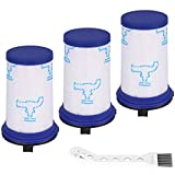 ABClife 3pcs Filtro para Rowenta Air Force 360 RH9057WO RH9086WO RH9059WO RH9037 RH9038 RH9039 RH9051WO Aspiradora, Filtro de Repuesto Accesorios Alternativa a ZR009001