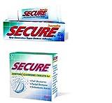 SECURE Denture Adhesive Cream 20 gms Plus SECURE Denture 32 Tablets Box