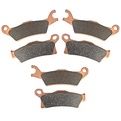 Brake Pads for Can-Am Outlander EFI XT XT-P XMR DPS Max XT/XT-P/XMR/DPS 450/570/650/800R/850/1000,Front and Rear Severe Duty Replacement Brake Pads