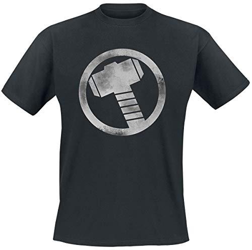 Thor Hammer T-Shirt schwarz XXL