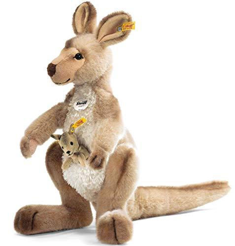Steiff 064623 - Kango Kaenguru mit Baby, 40 cm