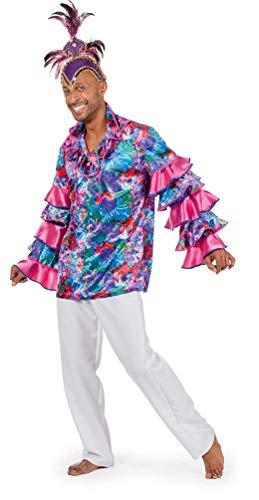Karneval-Klamotten Karibik Hemd Herren Karneval Rio