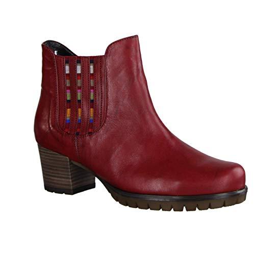 Gabor Athen laarzen in grote maten rood 36.654.18 grote damesschoenen