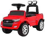 BSD Andados Coche para Niños Portador Correpasillos - Ford Ranger - Rojo