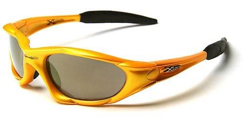 X-Loop 'Extreme' Lunettes de Soleil (Avec Etui) Sport - Cyclisme - Ski - Conduite - Moto - Taille Unique Adulte / Protection 100% UV400 (Etui Deluxe V
