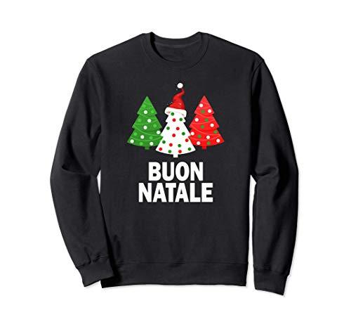 Italienischer Weihnachtsbaum Italien-Liebhaber-Flagge Natale Sweatshirt