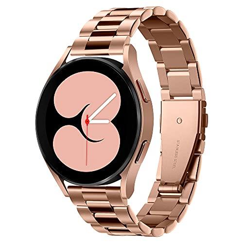Spigen Modern Fit Designed For Samsung Galaxy Watch 4 Band 44mm/40mm, Galaxy Watch 4 Classic Band 46mm/42mm, Galaxy Watch 3 Band 41mm, Galaxy Watch Active 1&2 Band - Rose Gold