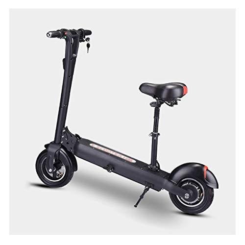 LJP Scooter Electrico con Asiento Alcance De hasta 60-70 KM Plegable Patín...