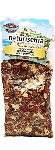 Naturischia - 3 confezioni di preparato per Spaghettata alla diavola 100 gr. ciascuna - Prodotto tipico Ischia