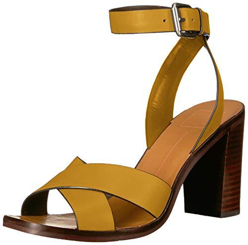 Dolce Vita Women's NALA Sandal, Honey Leather, 5.5 M US