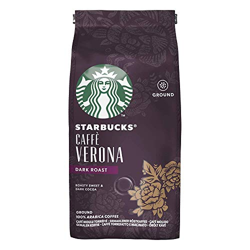 Starbucks Roast Ground Coffee Packet, 200g (Verona)
