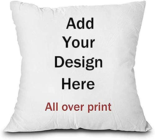 Custom Decorative Pillows with Speaker Personalized Two Sides Design Photo or Text Pillow Covers product image