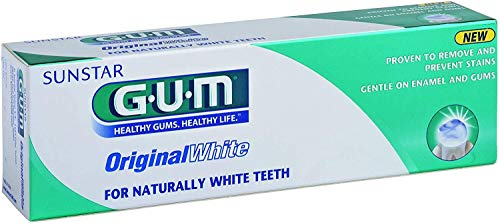 Dentifrice GUM Original White 75ml, Lot économique de 6 (6x 75ml)