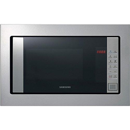 Micro ondes Encastrable Samsung FW87SST - Micro-Ondes Intégrable Inox - 23 litres - 800 W