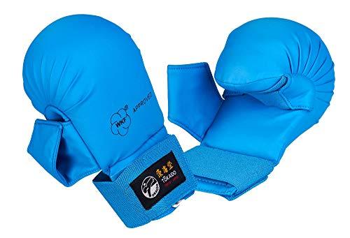 Tokaido Faustschutz blau mit Daumen, WKF Lizenz (M)