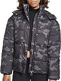 Urban Classics Ladies Boyfriend Camo Puffer Jacket Chaqueta, Multicolor...