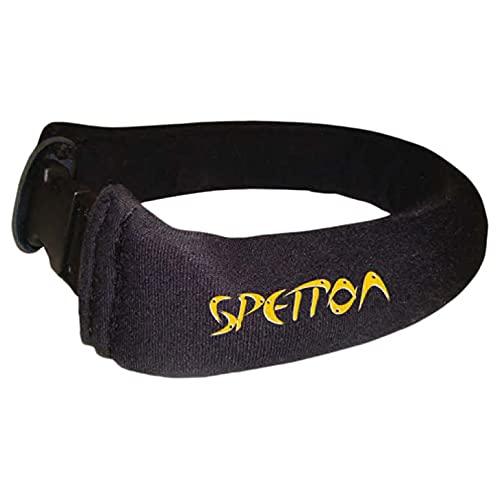 Spetton ACCS. APNEA Accesorios, Adultos Unisex, Black/Yellow (Negro), Talla Única