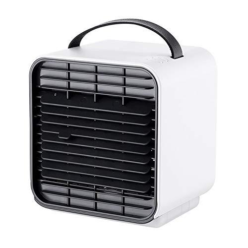 HBBOOI Conditioner Home Office Desk Luftkühler Fan Arctic Air Personal Space Kühler Der Quick & Easy Way jedem Raum Klimaanlage kühlen (Color : Weiß)