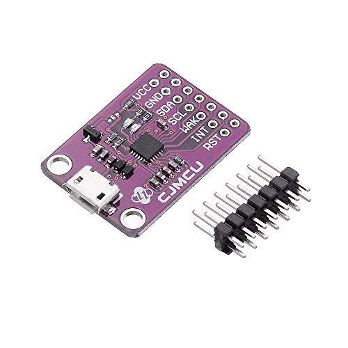 ZJF Componentes de la computadora Accesorios eléctrico 3 Piezas CP2112 Sensor de evaluación para CCS811 Tablero de depuración USB a I2C Módulo Convertidor de Comunicación