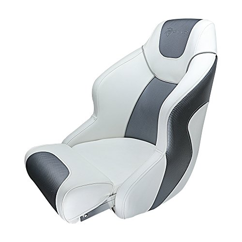 Seamander S1045 Series Premium Bucket Seat,Sport Flip Up Seat