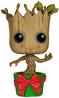 Marvel- Figura de Vinilo Holiday Dancing Groot, colección Guardians of The Galaxy (Funko 6196)