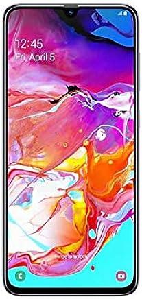 $350 Get Samsung Galaxy A70 SM-A705FN/DS 128GB, Dual-Sim, 6GB RAM, 6.7-Inch, GSM Unlocked International Model, No Warranty (White)
